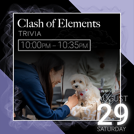Clash of Elements event description.