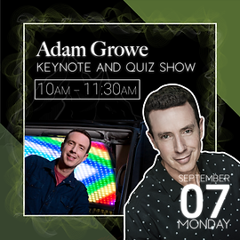 Adam Growe event description.
