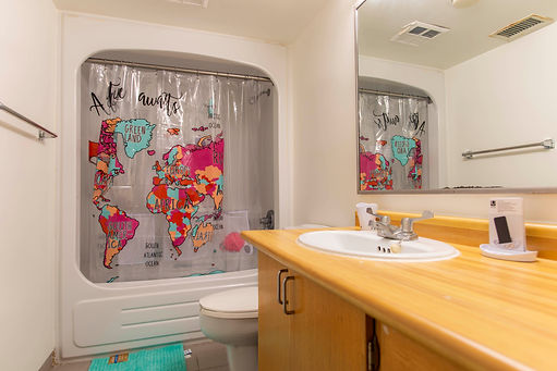 Residence Suite Bathroom