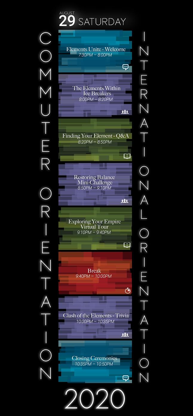 Commuter and International Orientation-0