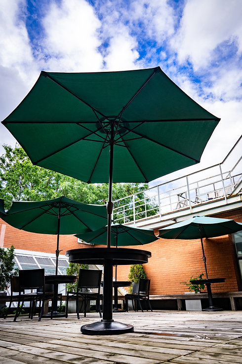 Innis College Upstairs Patio