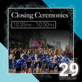 Closing Ceremonies event description