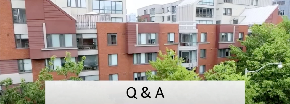 2020-2021 Innis Residence Q&A Video