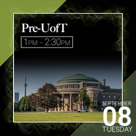 Pre-UofT event description