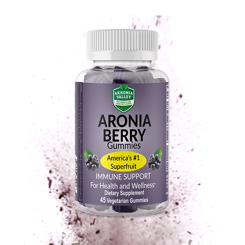 Akronia Valley Aronia Berry Gummies