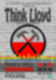 Affiche Think Lloyd Trefle Ungersheim 20