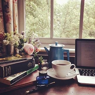 cosy writer's retreat at Starnash Farmhouse