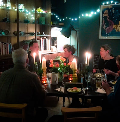 Dinner at Starnash Farmhouse