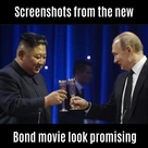 Screenshots from the new Bond movie look