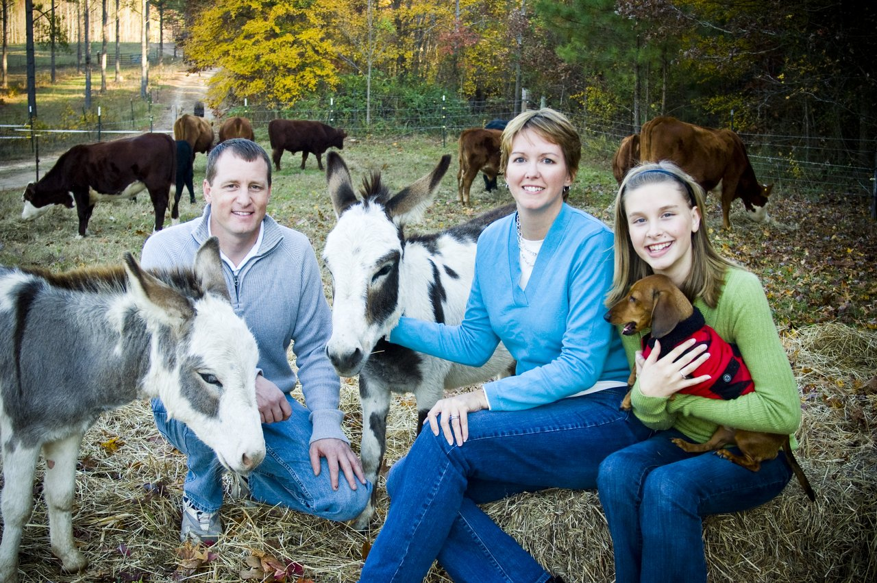 Farm Family Portrait
