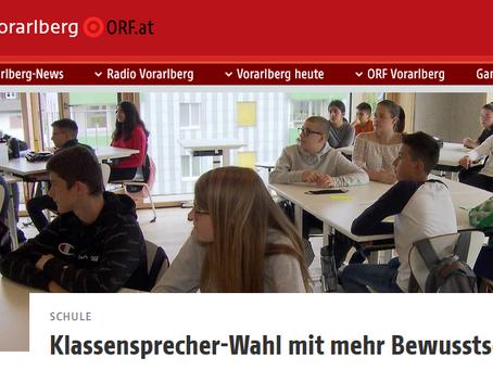 Klassensprecherwahl mit mehr Bewusstsein an Vorarlberger Schulen