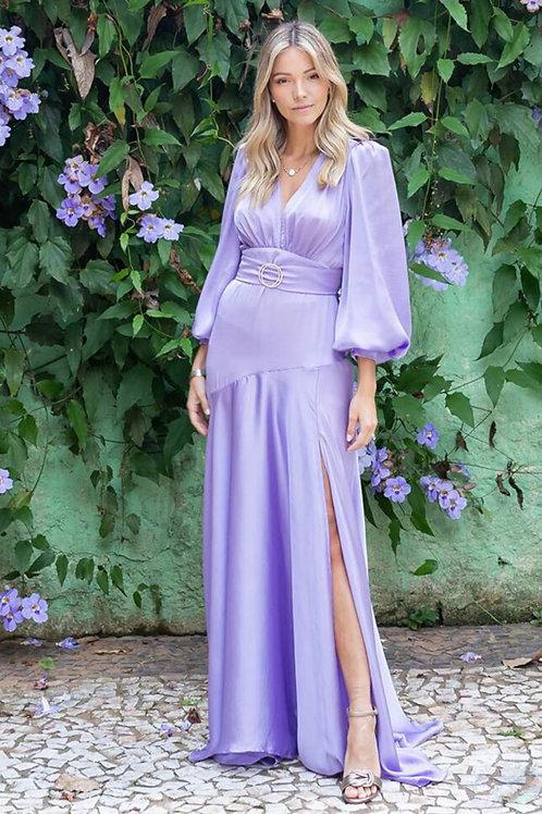Vestido Bárbara Lilás