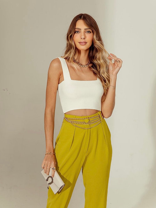 Cropped Lali Offwhite