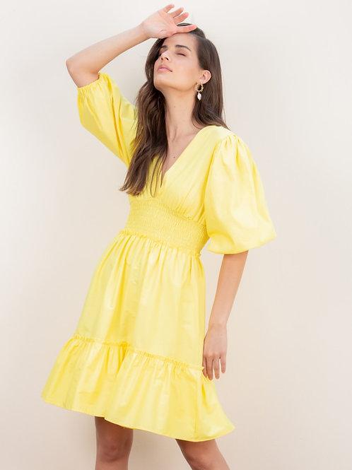 Vestido Rafaela Amarelo