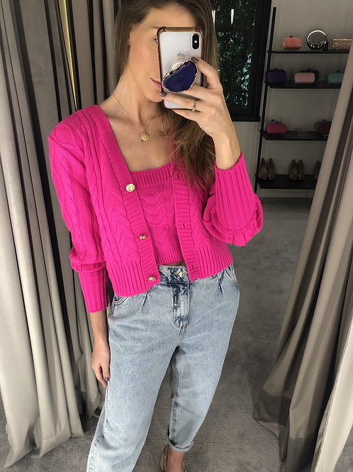 Twin Set Tranças Pink