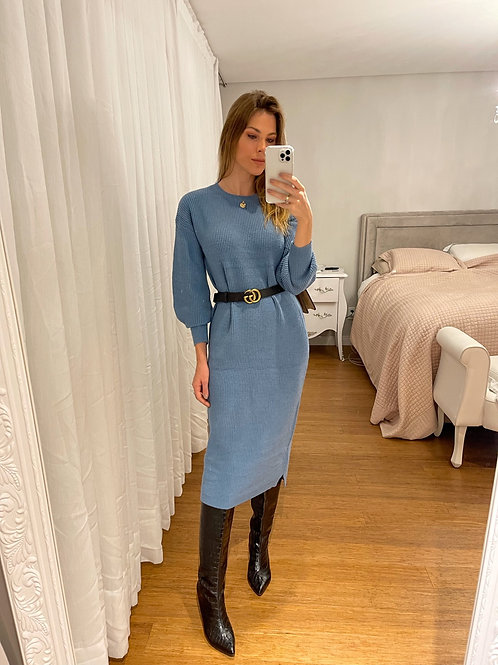 Vestido Giovana Azul