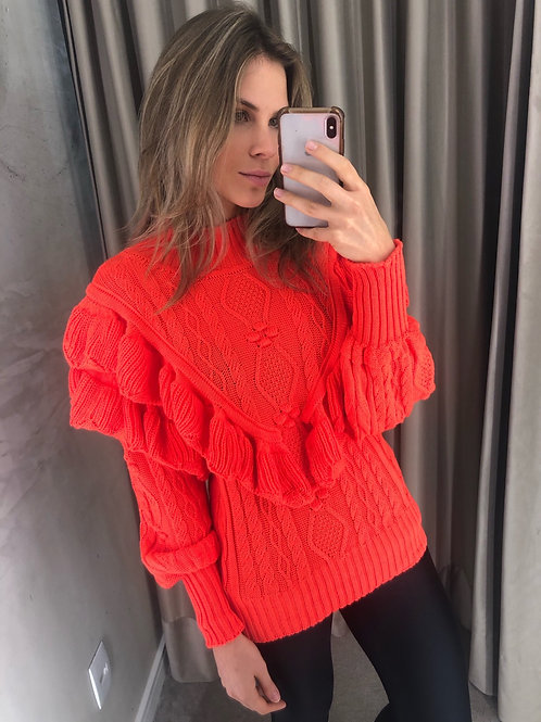 TRICOT IMPERIAL CORAL