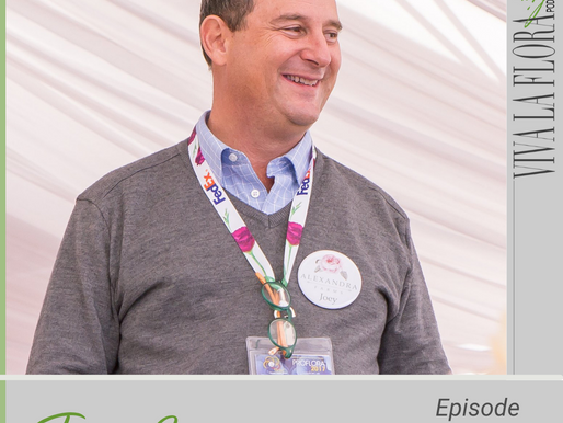 Listen to Joey Azout Talk Garden Roses on 'Viva La Flora Live' Podcast