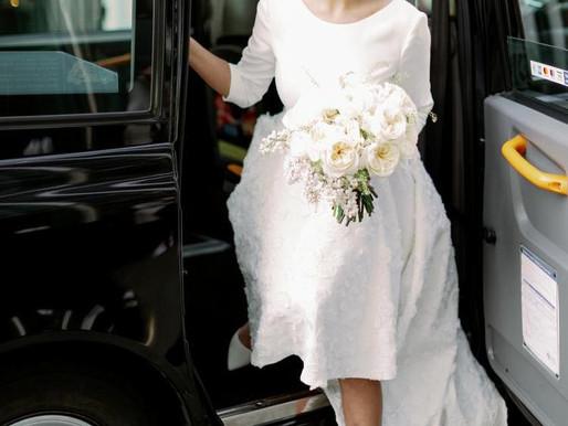 A City Wedding with David Austin Wedding & Event Roses