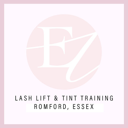 Lash Lift & Tint Training With Nikki at Romford, Essex