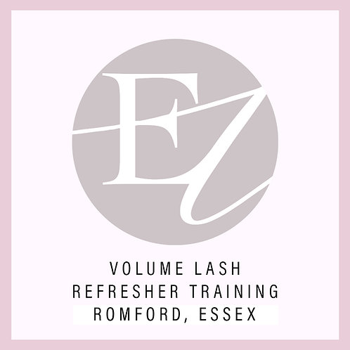 Volume Lash Refresh Training With Nikki at Romford, Essex