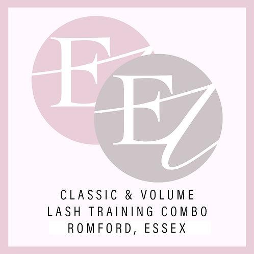 Classic & Volume Combo Training With Nikki Romford, Essex