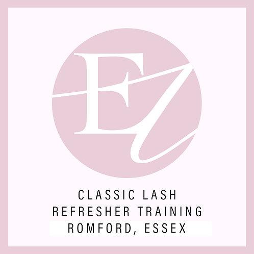 Classic Lashes Refresh Training With Nikki at Romford, Essex