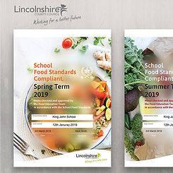 Healthy eating certificate