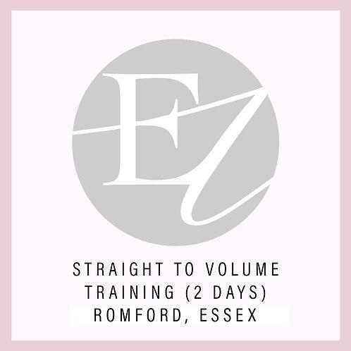 Straight To Volume Training With Nikki Romford, Essex