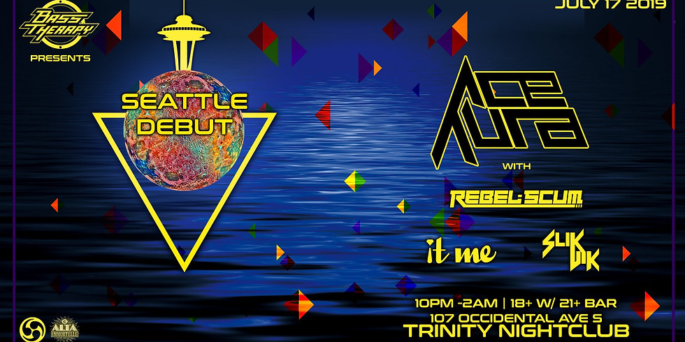 Bass Therapy Wednesday w/ Ace Aura