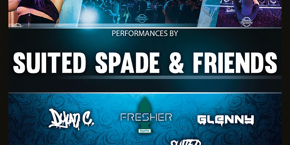 Bass Therapy Wednesday w/ Suited Spade