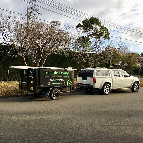Electric Lawns Trailer and ute.jpg
