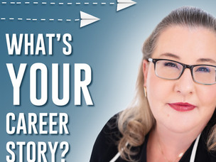 """NEW Podcast Launched: """"What's Your Career Story?"""""""
