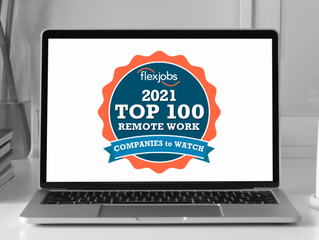 2021 Top 100 Remote Work Companies to Watch
