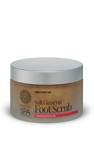 Fresh Spa KAM-CHAT-KA - Salt Ginseng Smoothing Foot Scrub