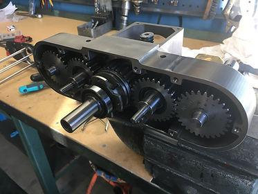3D-printade kugghjul, splines, axlar, trapetsgängor, 3D Metprint, 3D printning metall