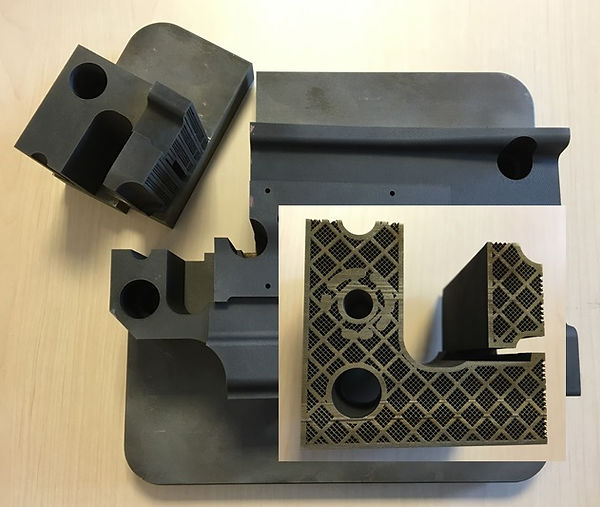 3D metall printed stamping tool, 3D Metprint, 3d metallprinting