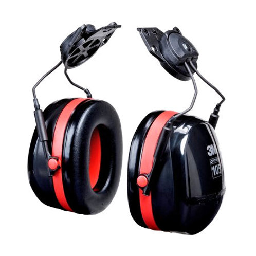 3M Peltor Optime 105 Helmet Attach Dual Cup (H10P3E)