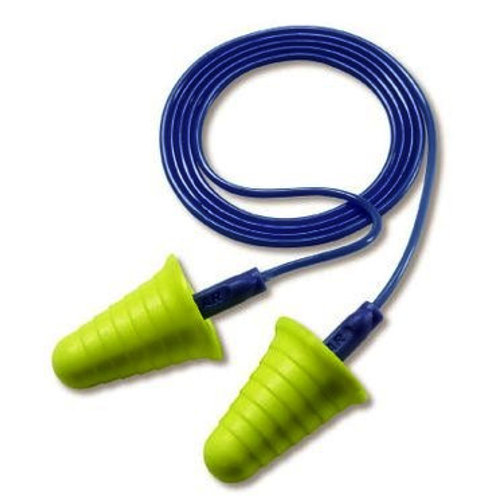 3M E-A-R Push-ins Earplugs with Grip Rings Corded (318-1009)