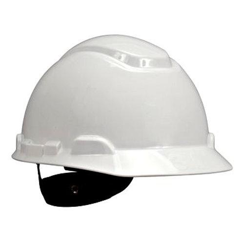 3M Hard Hat White 4-Point Ratchet Suspension (H-701R)