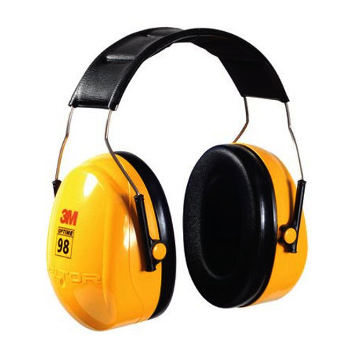 3M Peltor Optime 98 Over-The-Head HP Yellow (H9A)
