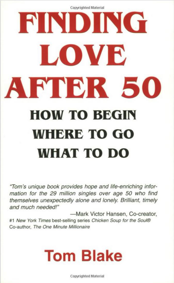 Tom Blake Finding Love After 50 book (Amazon.com)