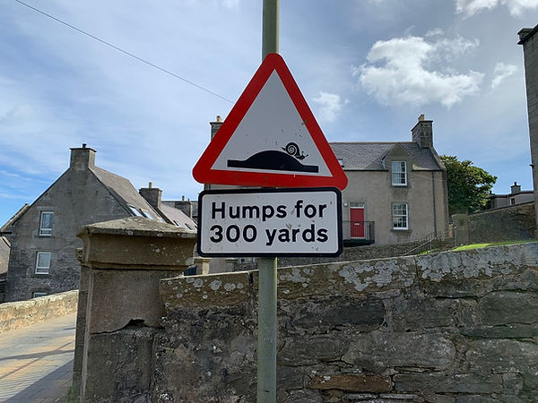 Street sign in Lerwick