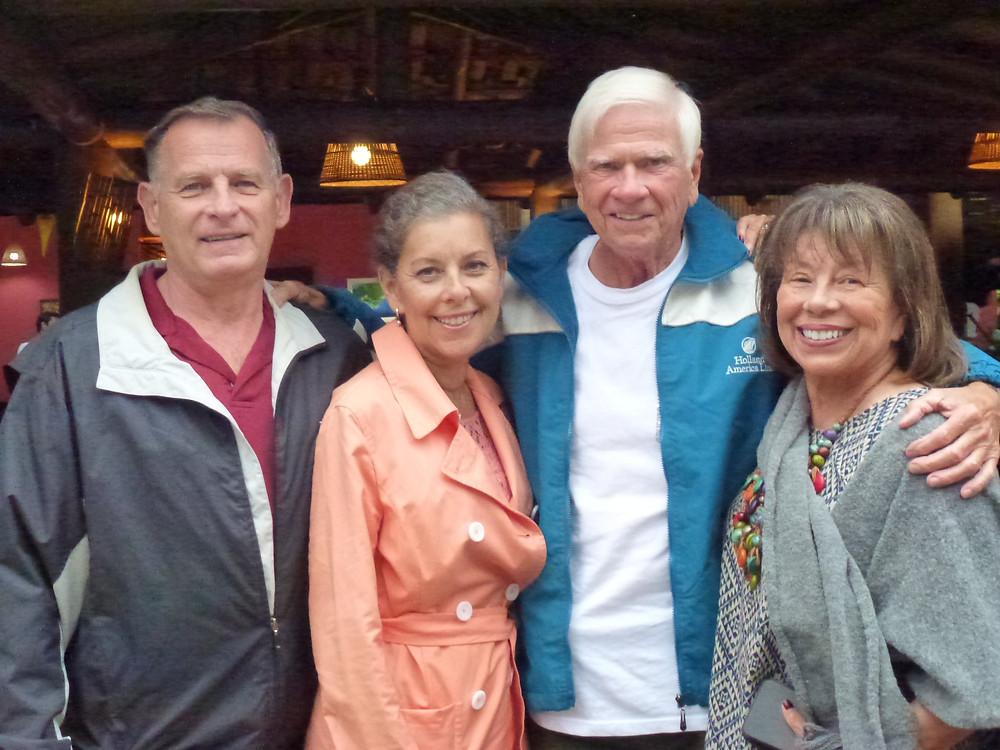 Tom Blake, Greta Cohn and family in Brazil