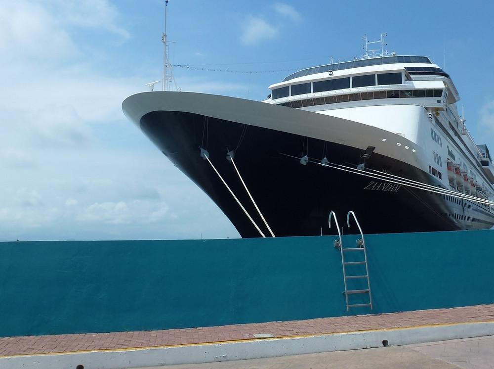 MS Zaandam docked in Puerto Vallarta Oct. 2017