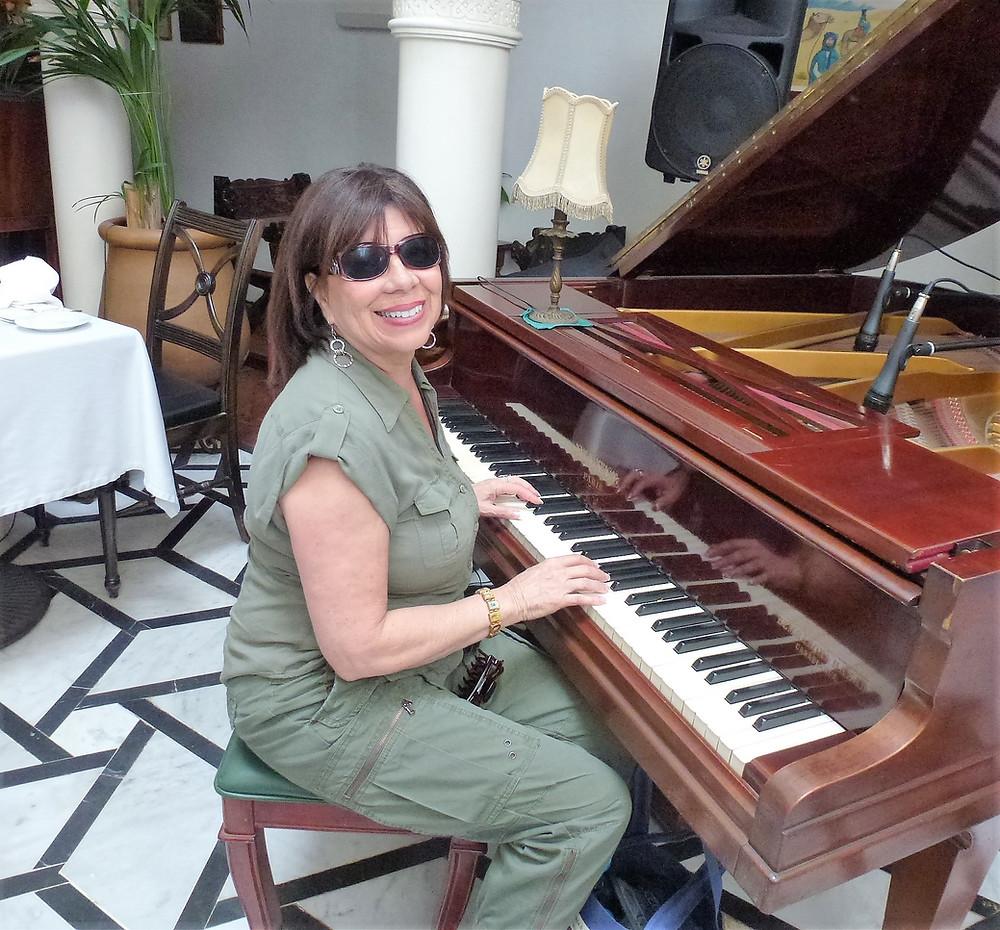 Rick's Cafe piano