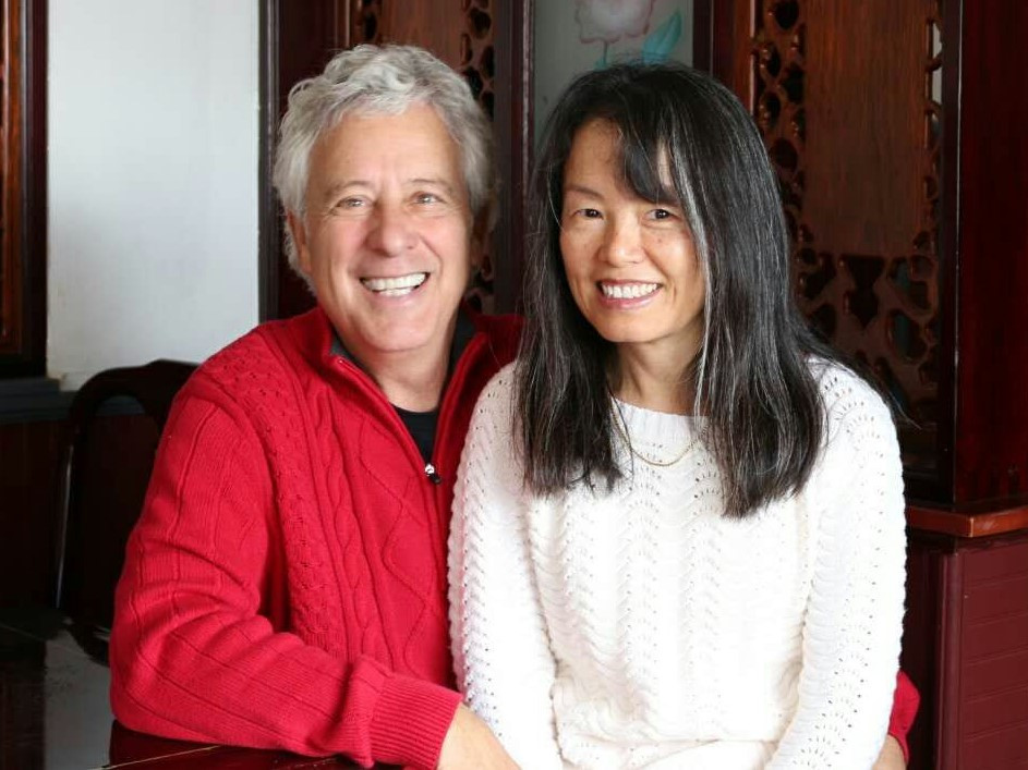 Liping and David - married 4 years