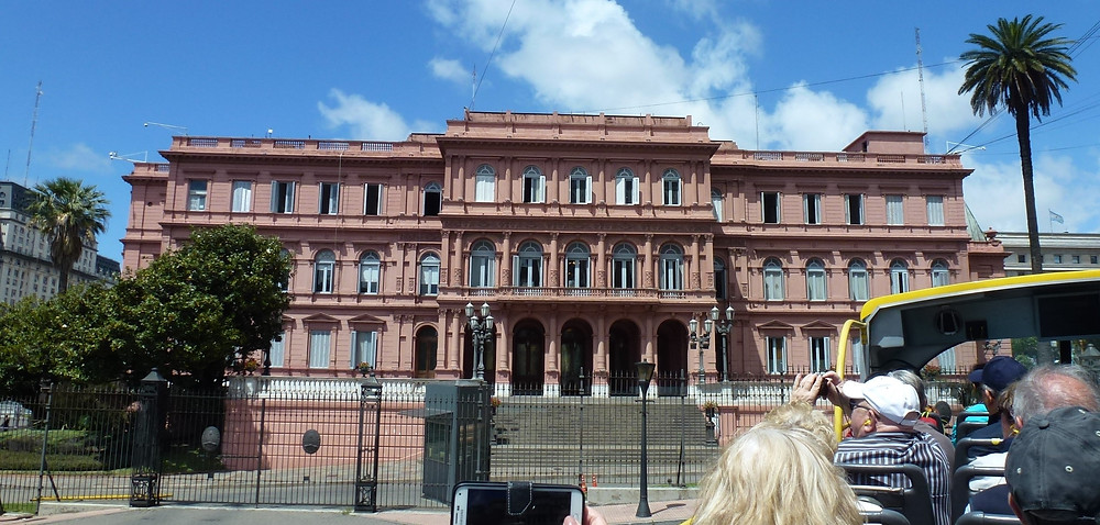 Buenos Aires pink building
