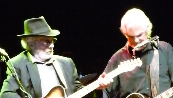 Merle Haggard and Kris Kristofferson