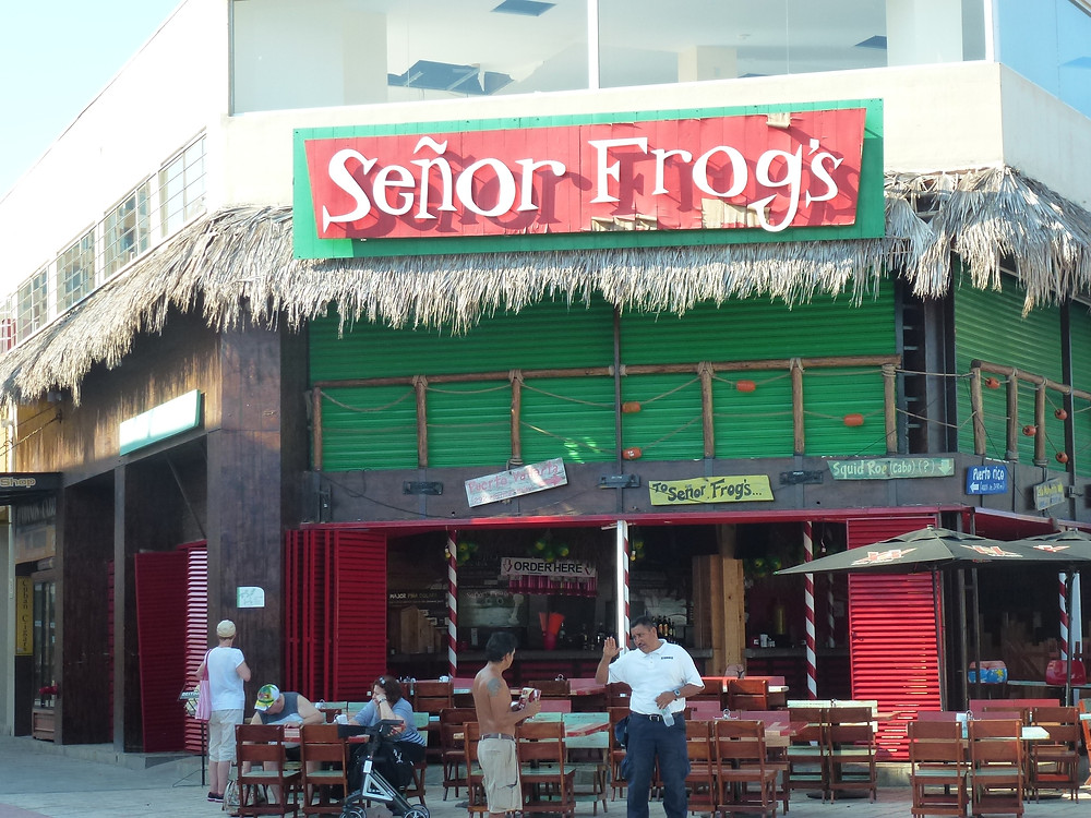 Senor Frog's Cabo San Lucas